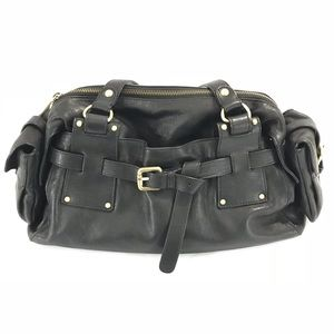 Kooba Black Shoulder Buckle Purse